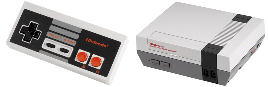 NES Pad and Console