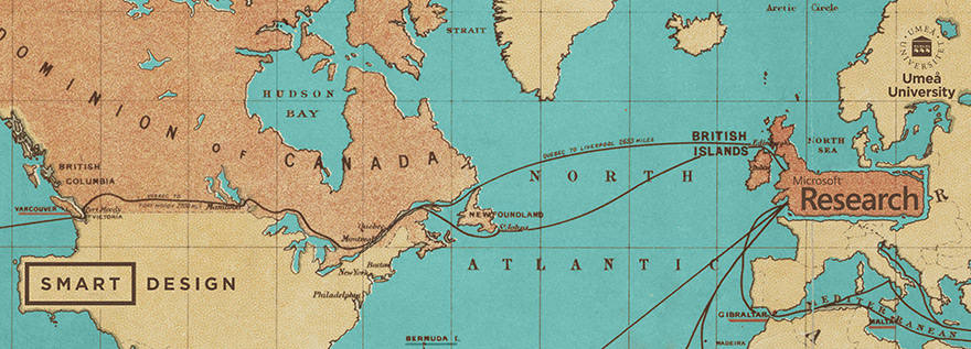 Internship map