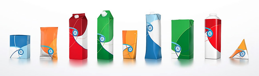 Current Tetra Pak containers