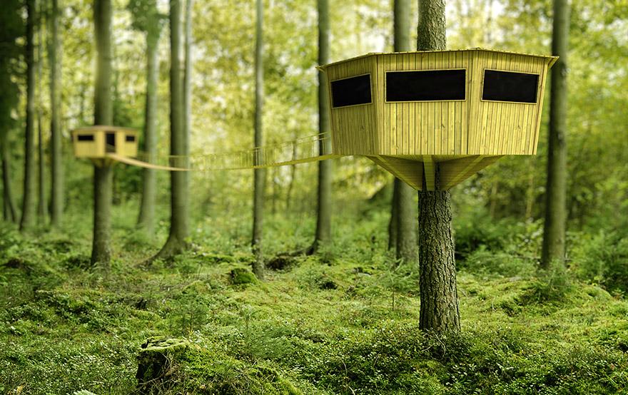 Concept tree houses