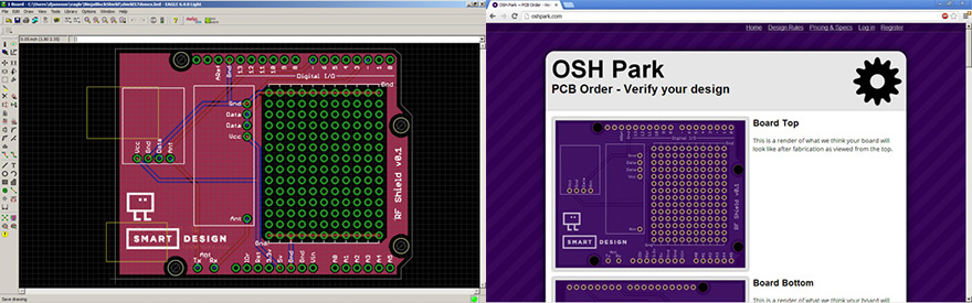 Designing and ordering PCB